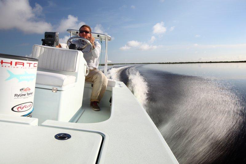 Louisiana Fly Fishing Charters East Cape Fury Skiff